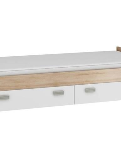 KITTY, postel nízká KIT-05 bez roštu, barva: ...