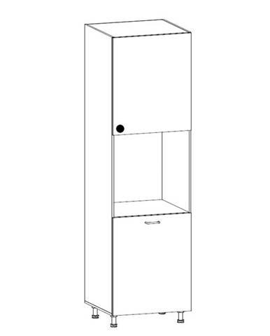 PROWANSJA vysoká skříňka pro vestavbu D60P pravá, borovice andersen