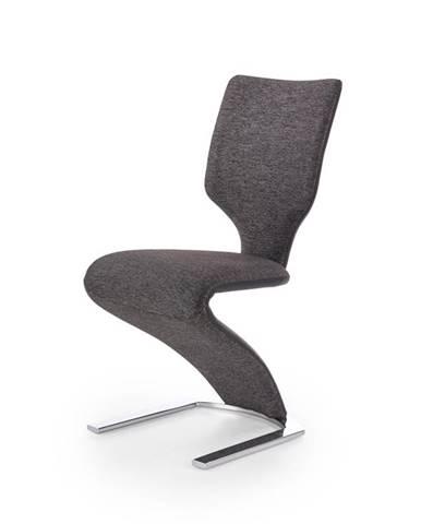 Židle K-307, šedo-černá