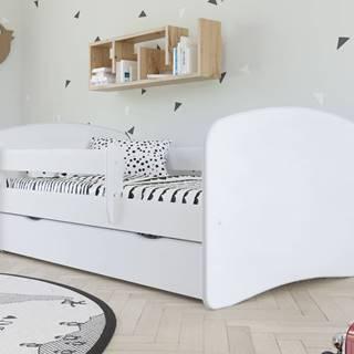Dětská postel bez vzoru BABYDREAMS 80x180 cm, bílá - bed without mattress bez wzoru