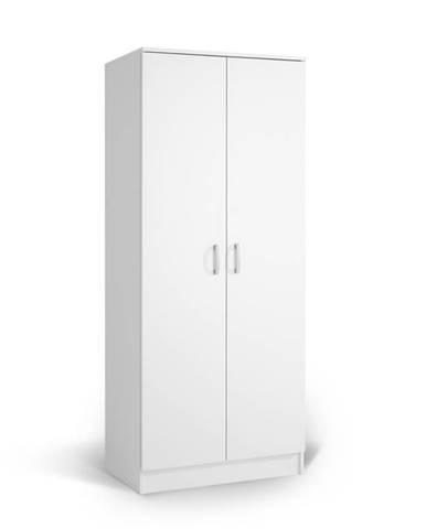 Šatní skříň IVA K2 POL, bílá