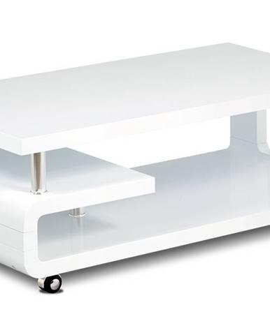 Konferenční stolek AHG-616 WT, bílý vysoký lesk