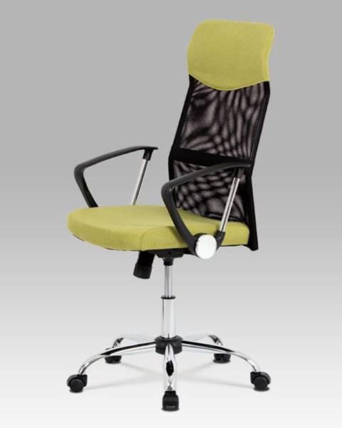 Smartshop Kancelářská židle KA-E301 GRN, černá/zelená