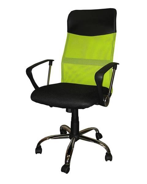 Smarshop Kancelářské křeslo President, zelená barva