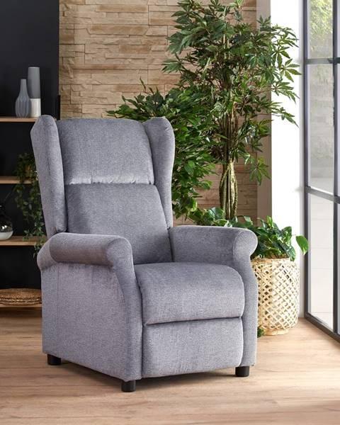 Smartshop Relaxační křeslo AGUSTIN, šedá