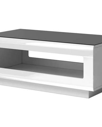 HEKTOR konferenční stolek TYP 99, bílá/bílý lesk