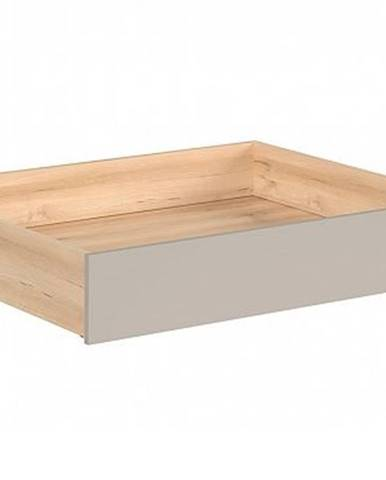 NAMEK zásuvka pod postel SZU, buk iconic/šedá