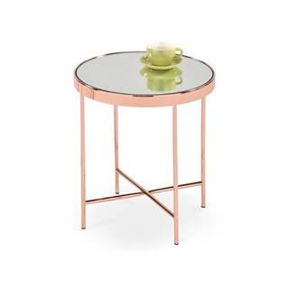 Kulatý konferenční stolek MIRA, měděná