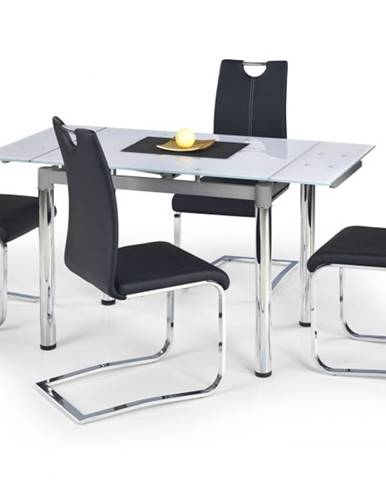 Jídelní stůl rozkládací LOGAN 2, bílý