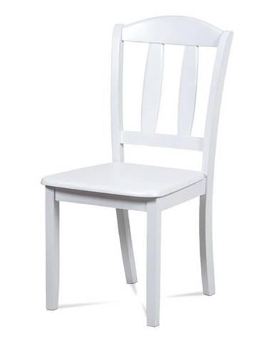 Jídelní židle celodřevěná SAVANA WT, bílá