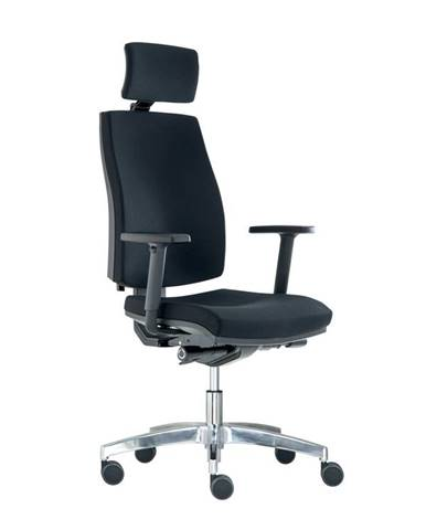 Kancelářská židle JOB s podhlavníkem, černá