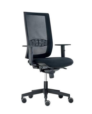 Kancelářská židle KENT SÍŤ, černá