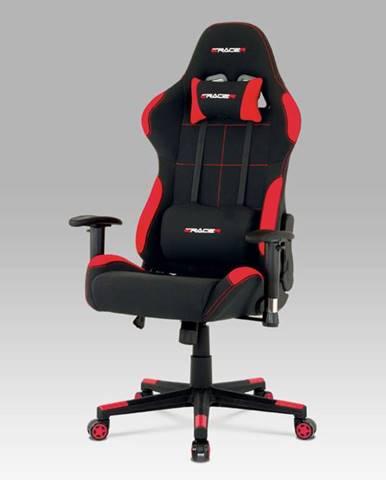 Kancelářská židle KA-F02 RED, červená