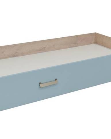 KINDER Zásuvka postele, dub/modrá