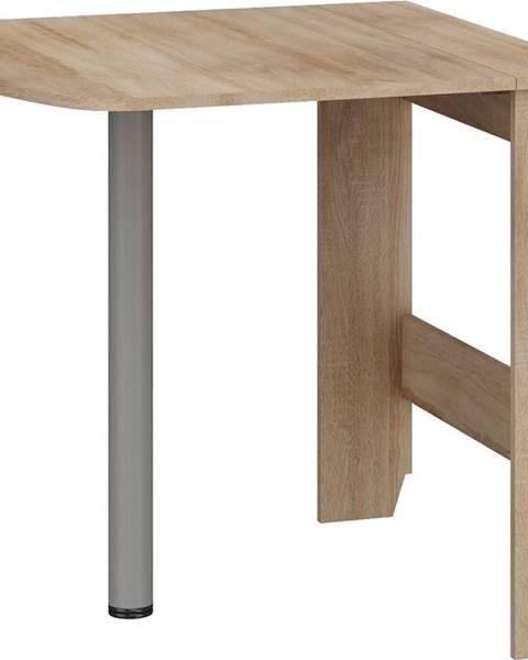 MORAVIA FLAT Skládací jídelní stůl EXPERT 6, dub sonoma