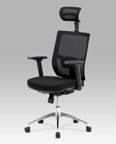 Kancelářská židle KA-B1083 BK, černá látka