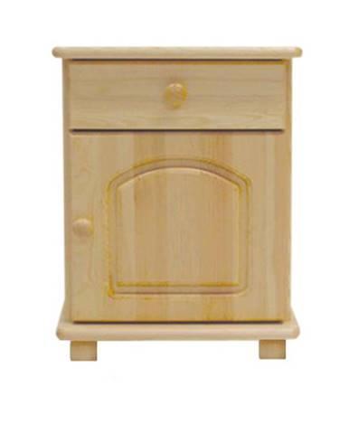 Noční stolek S5, masiv borovice, moření: ...