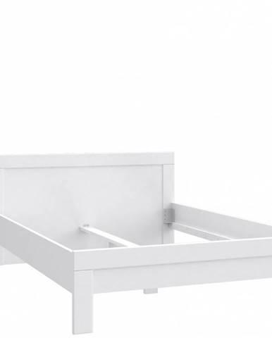 SNOW postel SNWL14 140x200 cm, bílá