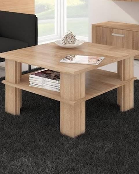 MORAVIA FLAT Konferenční stolek FUTURA 1, dub sonoma