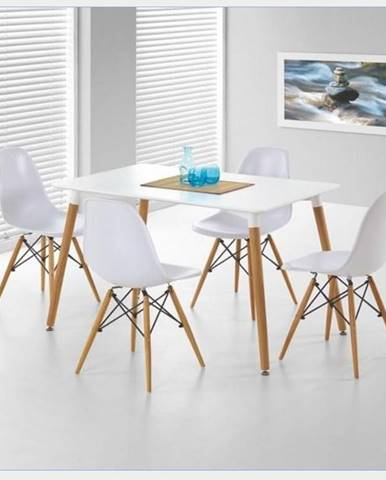 Jídelní stůl SOCRATES, bílý