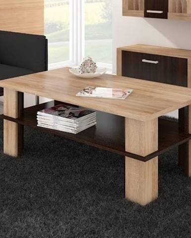 Konferenční stolek FUTURA 2, dub sonoma/dub sonoma tmavá