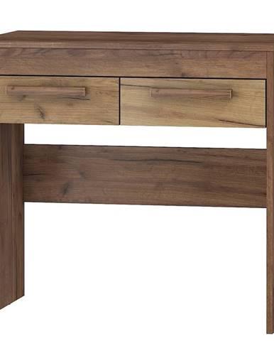 Toaletní stolek MAXIMUS 42, craft tobaco/craft zlatý