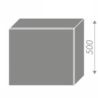 EMPORIUM, skříňka horní na digestoř W8 60, korpus: bílý, barva: white