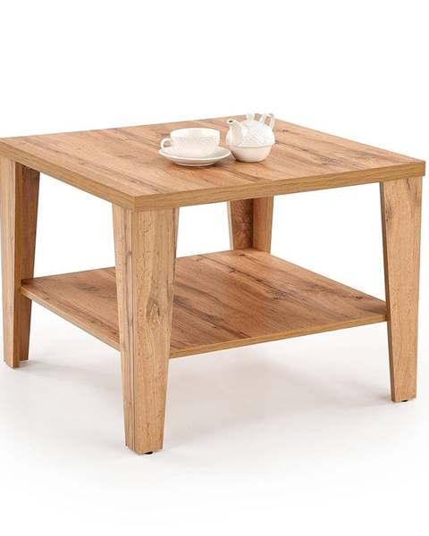 Smartshop Čtvercový konferenční stolek MANTA KWADRAT, dub wotan