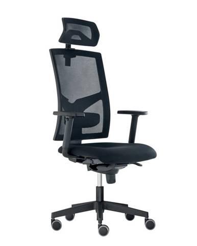 Kancelářská židle GAME ŠÉF, černá