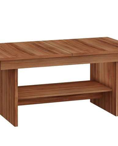 Konferenční stolek DALLAS rozkládací MAT, barva: švestka wallis