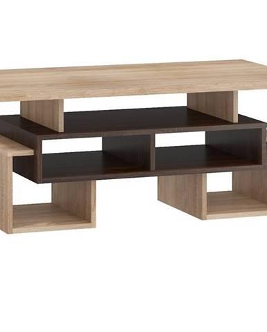 Konferenční stolek S RIO 12, dub sonoma tmavý/dub sonoma