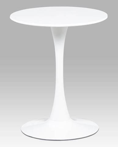 Kulatý jídelní stůl průměr 60 cm DT-560 WT, bílá