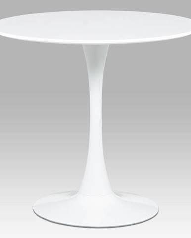 Kulatý jídelní stůl průměr 80 cm DT-580 WT, bílá