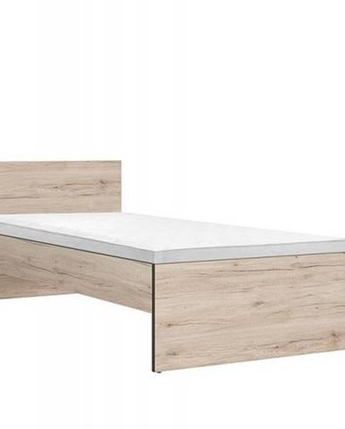 RONSE postel LOZ/90, dub san remo světlý