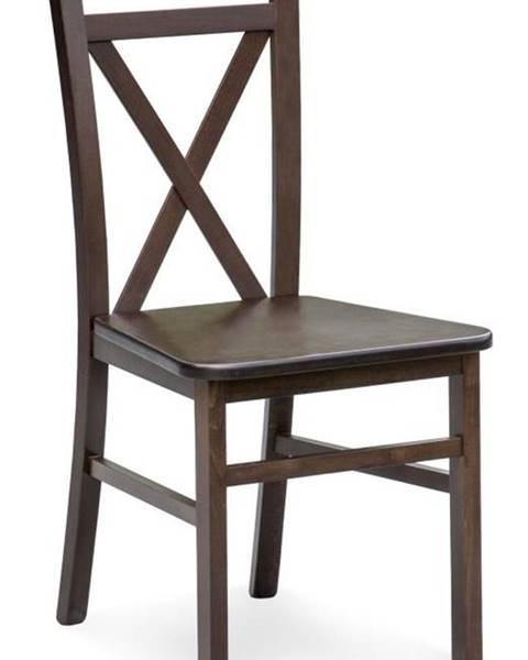 Smartshop Židle DARIUSZ 2, tmavý ořech