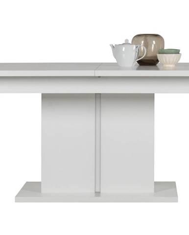 IM13 - Rozkládací jídelní stůl IRMA IM13, bílý vysoký lesk