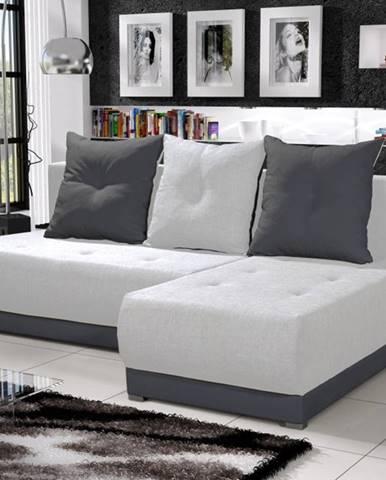 Rohová sedačka INSIGNIA 10, krémová/šedá