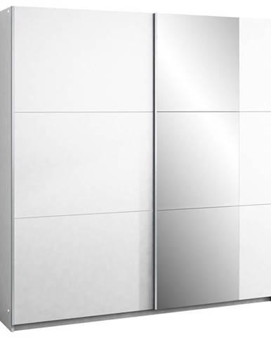Šatní skříň BASTIA 200, bílá/bílá