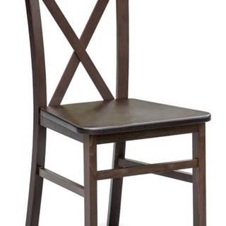 Židle DARIUSZ 2, tmavý ořech