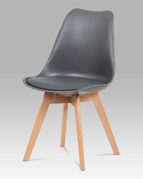 Smartshop Jídelní židle CT-752 GREY, šedá / masiv buk
