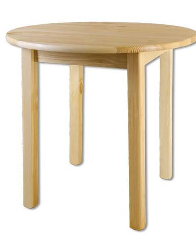 Kulatý jídelní stůl ST105, O90x75, moření: …