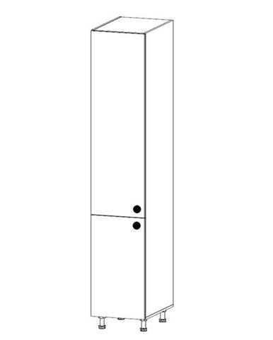 PROWANSJA vysoká skříňka D40SP levá, borovice andersen
