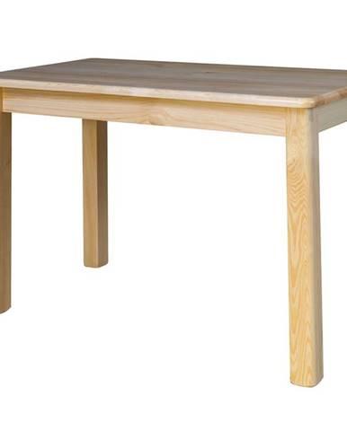 Rozkládací jídelní stůl ST104, 110x75x60, moření: …