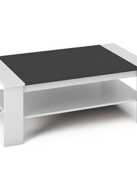 Smartshop BAKER konferenční stolek, bílá/černá