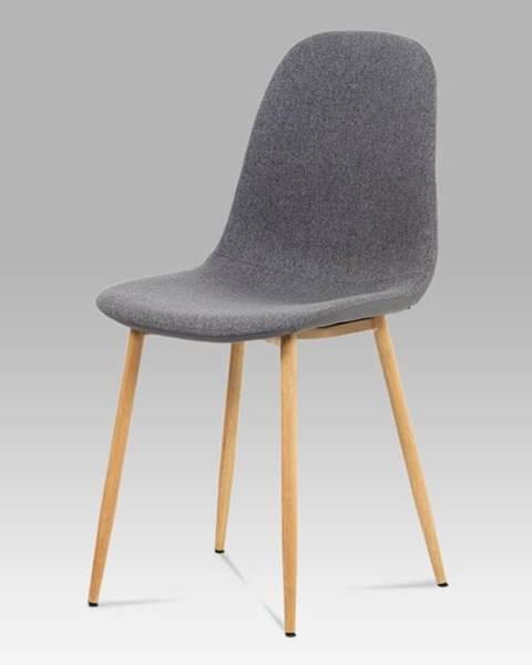 Smartshop Jídelní židle CT-391 GREY2, šedá/buk