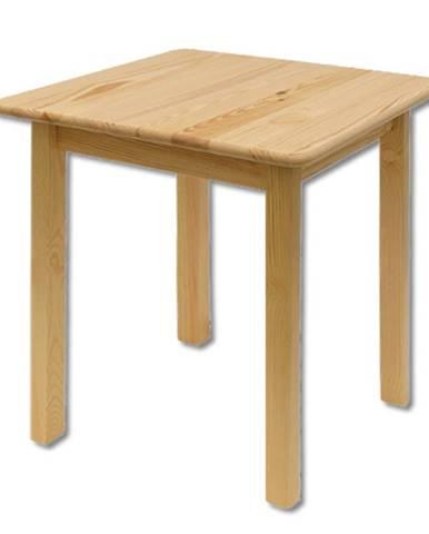 Čtvercový jídelní stůl ST106, 75x75x75, moření: …