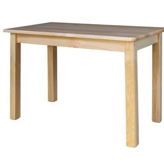 Rozkládací jídelní stůl ST104, 100x75x70, moření: …