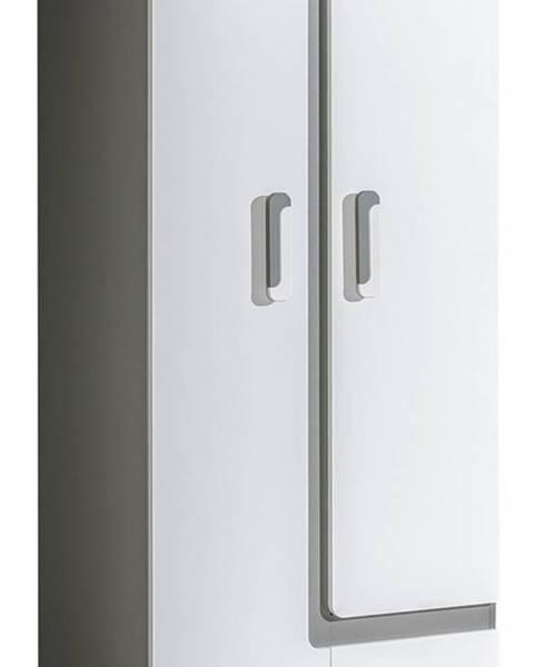 Smartshop Šatní skříň APETTITA 1, antracit/bílá