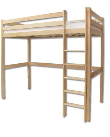 Patrová postel LK135, 90x200, masiv borovice