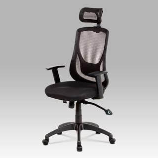 Kancelářská židle KA-A186 BK, černá
